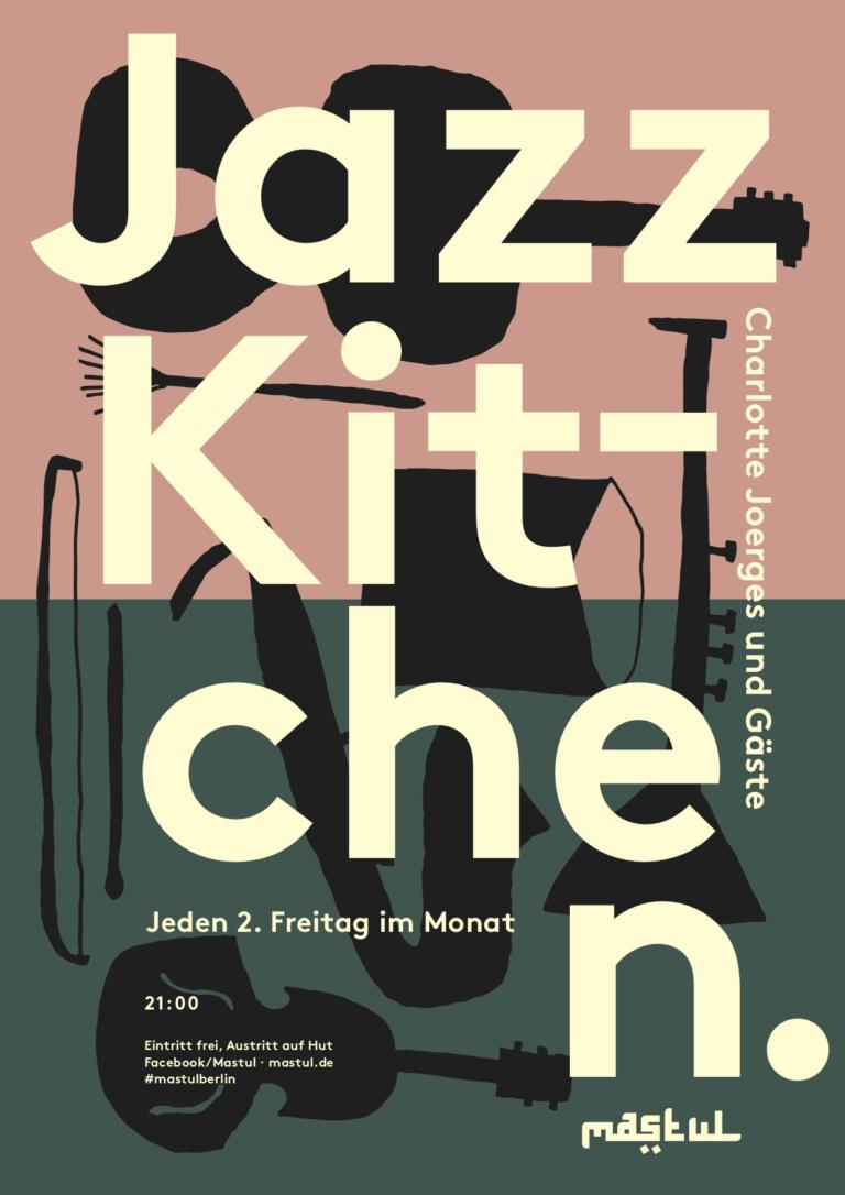 Jazzkitchen-Plakat